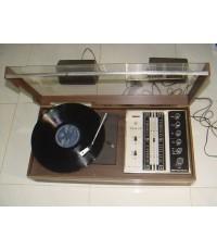 เครื่องเล่นแผ่นเสียง TANIN Stereo 28 Transistors ใช้งานได้ปกติ เสียงดีมาก รุ่นหายาก