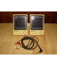 Vintage SONY SRS-30 Active Speaker system JAPAN