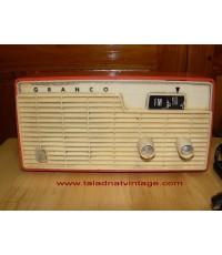 วิทยุหลอด FM Granco ใช้งานได้ปกติ