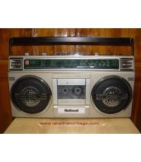 วิทยุเทป NATIONAL RX4925F ของใหม่เก่าเก็บ สภาพสวยกริ๊บๆ ใช้งานได้ทุกระบบ