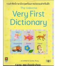 หนังสือเด็กมือสอง  รวมคำศัพท์ภาษาอังกฤษ The Usborne Very First Dictionary
