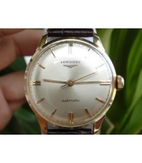 LONGINES SWISS MADE AUTOMATIC 18K SOLID GOLD (PINK GOLD) (ขายแล้วครับ)