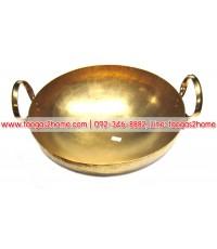 กระทะทองเหลือง เบอร์ 12
