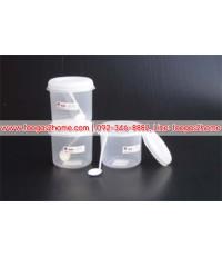 PN3002L/1โหลกลม รุ่น L 1000 ml.+ช้อน 904