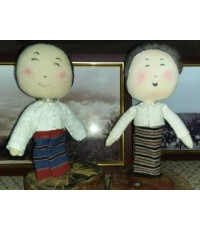 ตุ๊กตาผ้าทอเย็บมือ