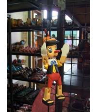 ตุ๊กตาหุ่นเชิด ตุ๊กตาไม้ ตุ๊กตาเด็กชาย ตุ๊กตา ของเล่นเด็ก ตุ๊กตาหุ่นไม้ wooden doll, Puppet doll, to