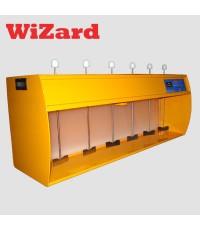 เครื่องทดสอบการตกตะกอนน้ำ JarTest ยี่ห้อ WIZARD รุ่น Plus-6