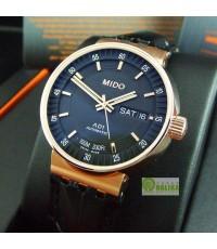 นาฬิกา MIDO ALL DIAL AD1 automatic M8330.5.18.43 pink gold สายหนัง