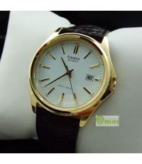 นาฬิกา CASIO สายหนังเรือนทอง MTP-1183Q-7ADF