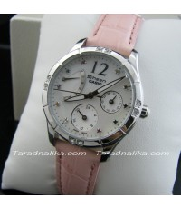 นาฬิกา CASIO SHEEN crytal lady retrograde SHN-3016LP-7ADR