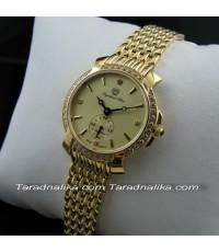 นาฬิกา Olympia star crytal lady sapphire 58045L-210 เรือนทอง