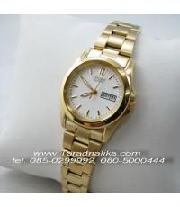 นาฬิกา CITIZEN lady ควอทซ์ EQ0562-54A เรือนทอง