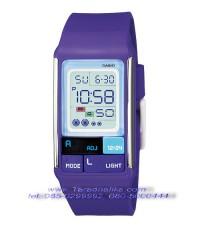 นาฬิกา CASIO poptone LDF-52-6ADR สีม่วง