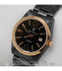 นาฬิกา Olym pianus sapphire Gent 8934m-630 black ip
