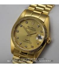 นาฬิกา Olym pianus sportmaster Automatic sapphire T89322AM-306 เรือนทอง