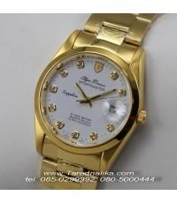 นาฬิกา Olym pianus sapphire 8934M-616 เรือนทอง