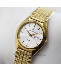 นาฬิกา Olym pianus sapphire Gent 8971M-406E เรือนทอง