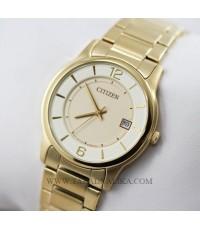 นาฬิกา CITIZEN ควอทซ์ Gent เรือนทอง BD0022-59A