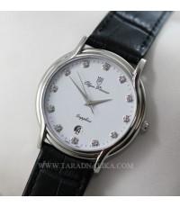 นาฬิกา Olympia Pianus sapphire quartz 151-1M-405E สายหนัง