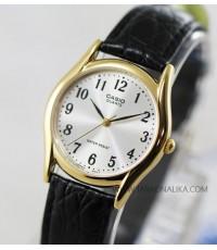 นาฬิกา CASIO Gent quartz MTP-1094Q-7B2 boy size สายหนัง