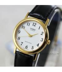 นาฬิกา CASIO Gent quartz MTP-1095Q-7BD boy size สายหนัง