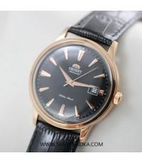นาฬิกา Orient Automatic Classic pinkgold สายหนัง FER24001B