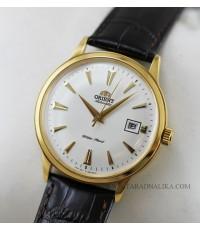 นาฬิกา Orient Automatic Classic สายหนัง ORAC00003W เรือนทอง