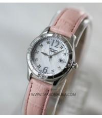 นาฬิกา CASIO SHEEN SHN-4019LP-7ADF สายหนังสีชมพู