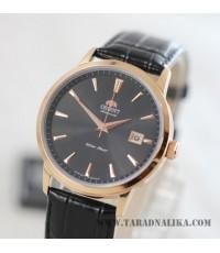 นาฬิกา Orient Automatic Classic pinkgold สายหนัง FER27002B