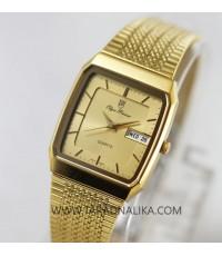 นาฬิกา Olym pianus quartz Gent 8954M-406E เรือนทอง