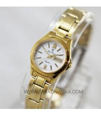 นาฬิกา Olym pianus lady sapphire 5663L-622 เรือนทอง