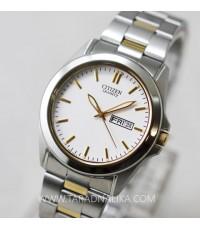 นาฬิกา CITIZEN ควอทซ์ BF0584-56A สองกษัตริย์