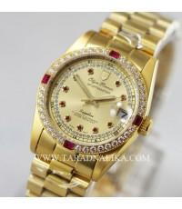 นาฬิกา Olym pianus sportmaster Automatic sapphire 89322AM-306  พลอยแดงขาว