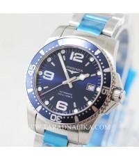 นาฬิกา Longines HydroConquest automatic L3.642.4.96.6 Blue Dial
