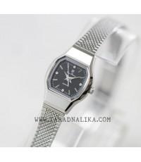 นาฬิกา Olym pianus lady sapphire 5140L-601   หน้าปัดดำ