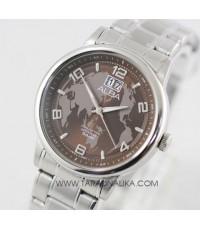 นาฬิกา ALBA Prestige Gent AQ5121X1 หน้าปัดลายแผนที่