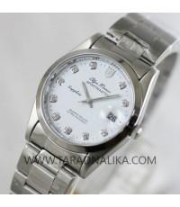 นาฬิกา Olym pianus sapphire 8934M-616 หน้าปัดขาว