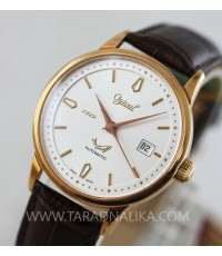 นาฬิกา Ogival classic automatic pinkgold สายหนัง 1929A-24AGR