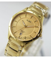 นาฬิกา ALBA Classic sapphire gent AS9376X1 เรือนทอง