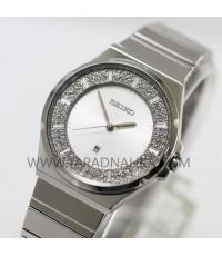 นาฬิกา SEIKO modern lady crystal ควอทซ์ SXDF71P1
