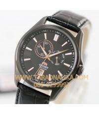 นาฬิกา Orient Automatic Classic สายหนัง FET0R001B0  black ip