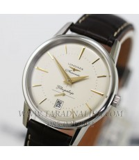 นาฬิกา Longines Heritage Collection Flagship automatic L4.795.4.78.2