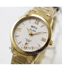 นาฬิกา ALBA Classic sapphire gent AV3144X1 เรือนทอง