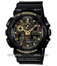 นาฬิกา CASIO G-shock GA-100CF-1A9DR 2 ระบบใหม่ หน้าลายพราง