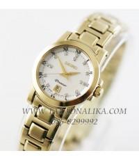 นาฬิกา SEIKO premier diamond lady SXDG04P1 กระจกแซฟไฟร์ เพชรแท้