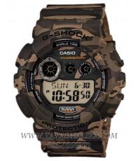 นาฬิกา CASIO G-shock GD-120CM-5DR ลายพรางน้ำตาล (ประกัน CMG)