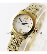 นาฬิกา SEIKO  lady ควอทซ์ SXDF64P1 เรือนทอง