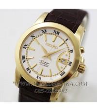 นาฬิกา SEIKO Premier Perpetual Calendar SNQ144P1 gold