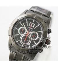 นาฬิกา SEIKO Sport chronograph SPC103P1 black ip