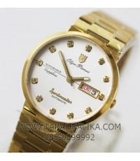 นาฬิกา Olym pianus sportmaster automatic sapphire 890-09AM-423 เรือนทอง